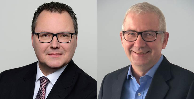 Portraitfoto von Heiko Böhnke und Dr. Matthias Thomas, Real Exchange
