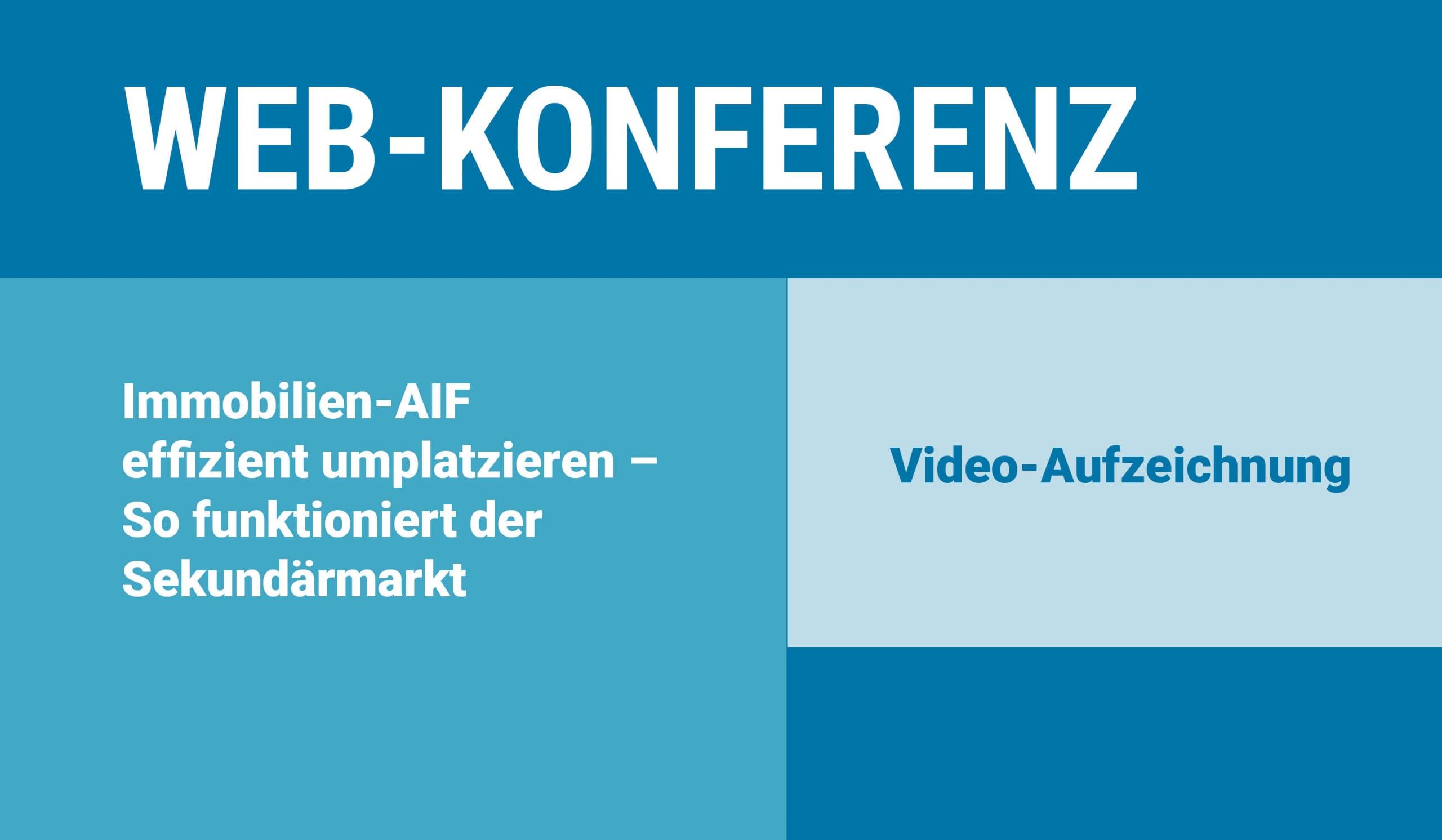Banner zu Web-Konferenz (Webinar) der Real Exchange